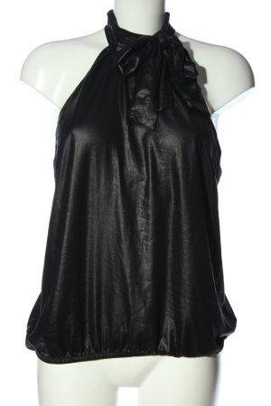 H&M Divided ärmellose Bluse schwarz Casual-Look