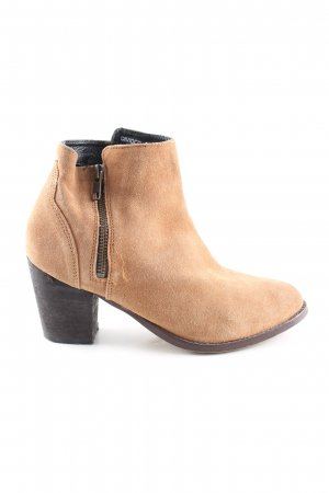H&M Divided Ankle Boots creme Business-Look