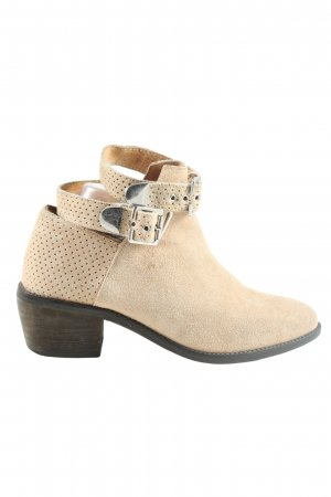 H&M Divided Ankle Boots creme Casual-Look