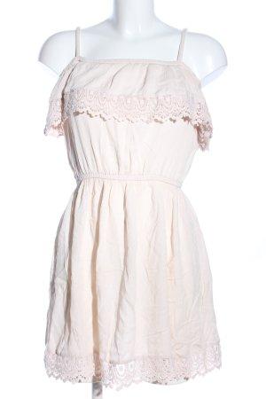 H&M Divided Robe Babydoll blanc cassé style décontracté