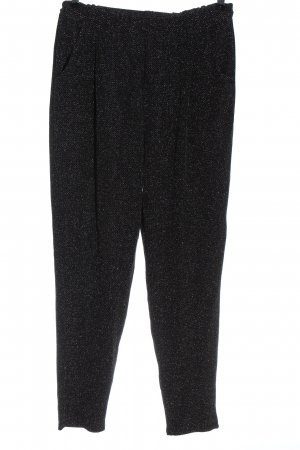 H&M Divided Baggy Pants schwarz-weiß Allover-Druck Casual-Look