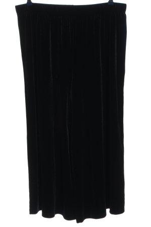 H&M Divided Luźne spodnie czarny W stylu casual