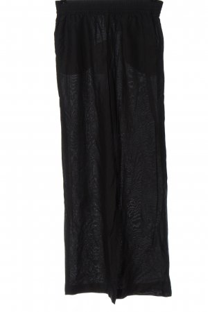 H&M Divided Baggy Pants schwarz Casual-Look