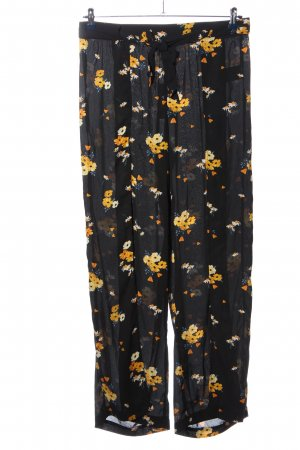 H&M Divided Baggy Pants Blumenmuster Casual-Look