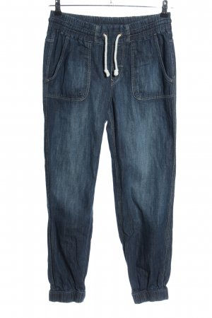 H&M Divided Baggyjeans blau Casual-Look