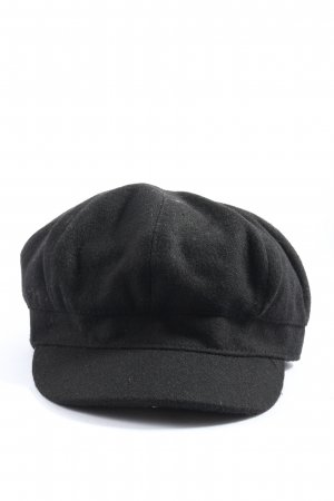 H&M Divided Baker's Boy Cap black casual look