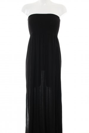 H&M Divided Vestido bandeau negro look casual