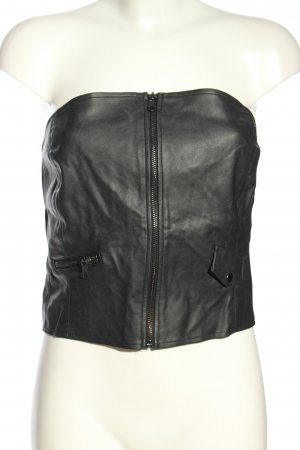 H&M Divided Haut bandeau noir style extravagant