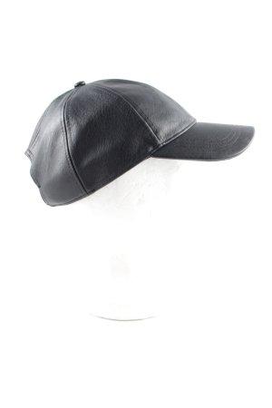 H&M Divided Baseballpet zwart casual uitstraling