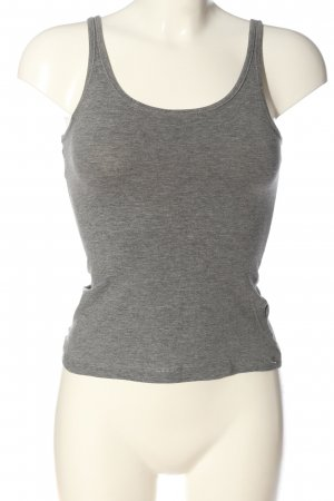 H&M Divided Basic Top braun meliert Casual-Look