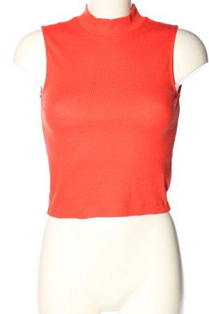 H&M Divided Haut basique rouge style décontracté