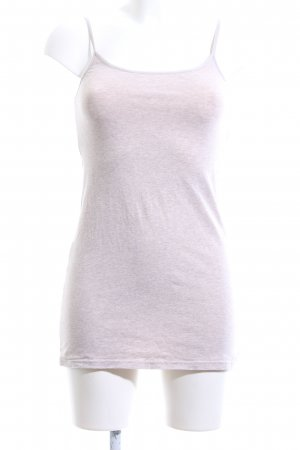 H&M Divided Basic Top pink meliert Casual-Look