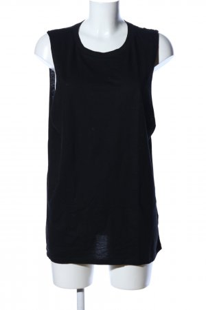 H&M Divided Top basic nero stile casual