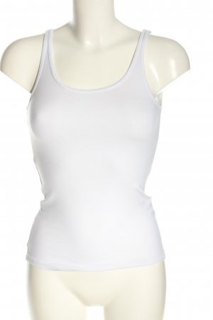 H&M Divided Basic Top weiß Casual-Look