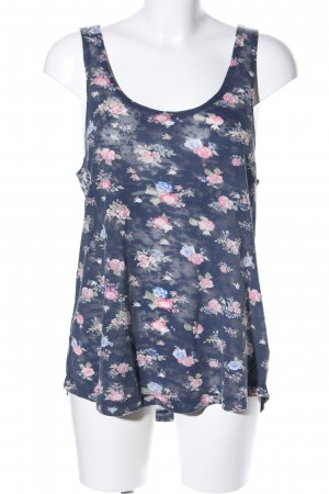 H&M Divided Basic Top Blumenmuster Casual-Look