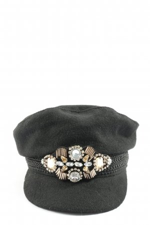 H&M Divided Beret black casual look