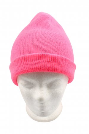H&M Divided Gorro rosa look casual