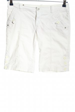 H&M Divided Bermudy biały W stylu casual