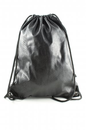 H&M Divided Buideltas zwart dierenprint casual uitstraling