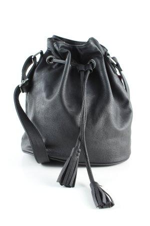 H&M Divided Borsellino nero stile casual
