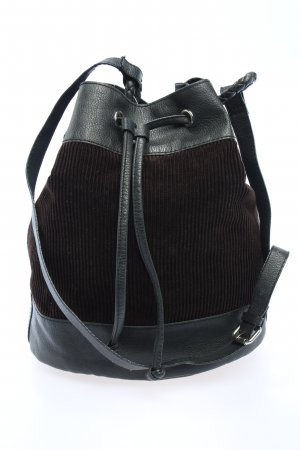 H&M Divided Pouch Bag black-brown casual look