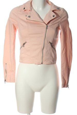 H&M Divided Bikerjacke pink Casual-Look