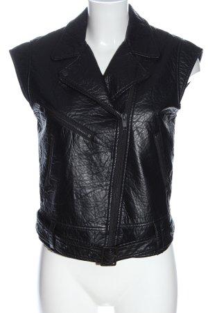 H&M Divided Kamizelka typu biker czarny W stylu casual