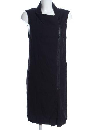 H&M Divided Cardigan lungo smanicato nero stile casual
