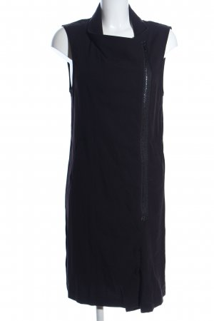 H&M Divided Chaleco de punto largo negro look casual