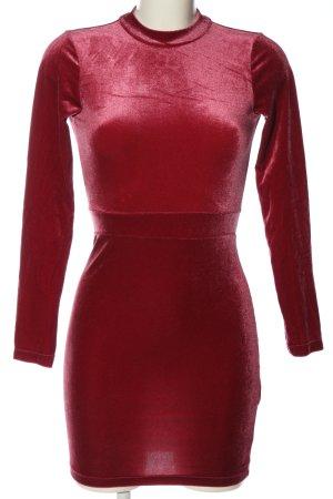H&M Divided Abito longuette rosso elegante