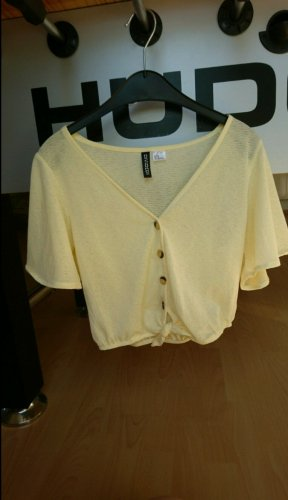 H&M Divided - Bluse gelb