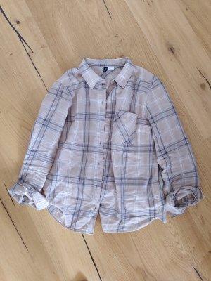 H&M Divided Bluse Hemd Holzfäller Karo