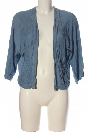 H&M Divided Blouse Jacket blue casual look