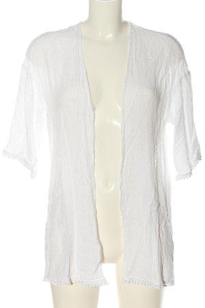 H&M Divided Marynarka koszulowa biały W stylu casual