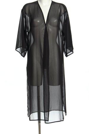 H&M Divided Blusenjacke schwarz Elegant