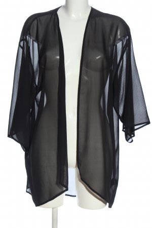 H&M Divided Chaqueta tipo blusa negro look casual