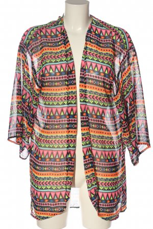 H&M Divided Blouse Jacket mixed pattern casual look