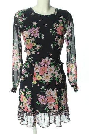 H&M Divided Blusenkleid Blumenmuster Casual-Look