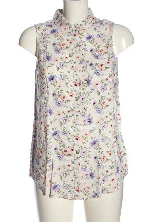 H&M Divided Blouse kraagje bloemenprint casual uitstraling