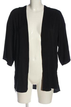 H&M Divided Marynarka koszulowa czarny W stylu casual