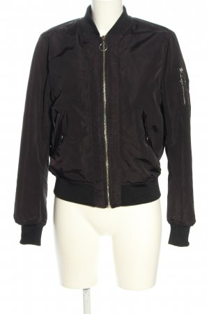 H&M Divided Bomber Jacket black casual look