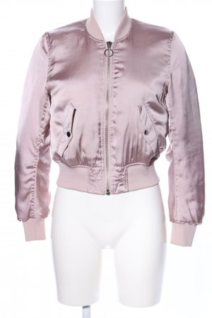 H&M Divided Bomber Jacket pink casual look