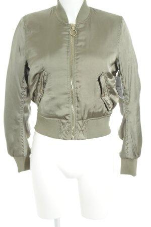 H&M Divided Bomberjacke khaki-olivgrün Casual-Look