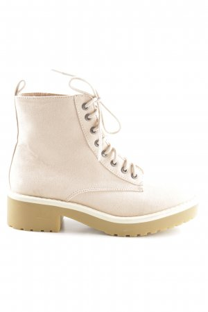 H&M Divided Booties creme Casual-Look