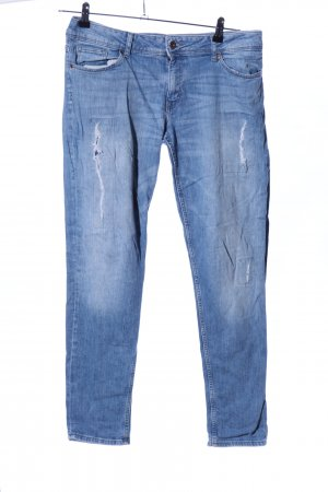 H&M Divided Boyfriend Jeans blue casual look