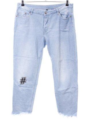 H&M Divided Jeans boyfriend bleu style décontracté