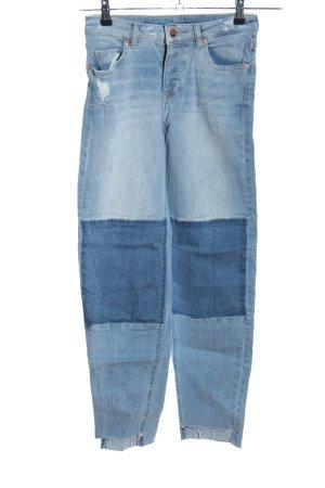 H&M Divided Boyfriendjeans blau Casual-Look