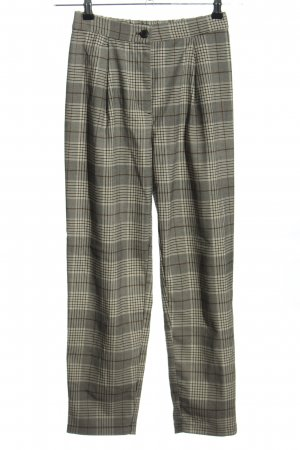 H&M Divided Spodnie z zakładkami Wzór w kratkę W stylu casual