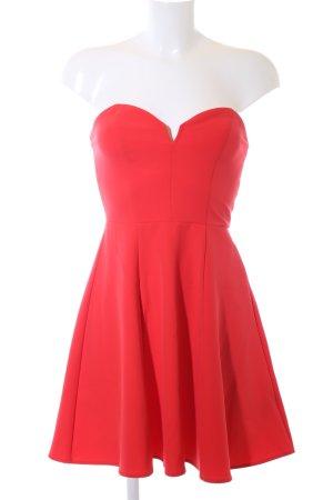 H&M Divided Robe bustier rouge élégant