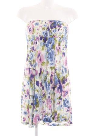 H&M Divided Vestido bustier estampado floral elegante